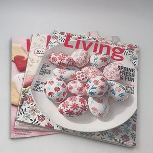 Martha Stewart 2017 Living Magazine Set
